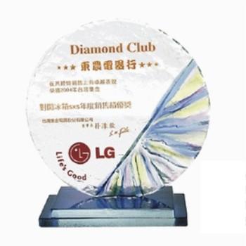 彩琉璃獎牌